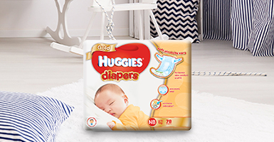 Gold Diapers Newborn Small